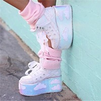 Cloud High Platform sneakers