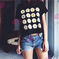 Sunflower flower T-shirt