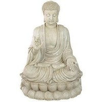 Beautiful Blessing Buddha Statues 12.75 Inches