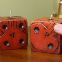 Nightmare Before Christmas Oogie Boogie Dice Candle Set