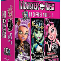 Monster High Collection (3 Films) - 3-Disc Box Set ( Monster High: 13 Wishes / Monster High: Ghouls Rule! / Monster High: Frights, Camera, Action! ) [ Blu-Ray, Reg.A/B/C Import - France ]