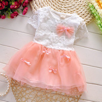 Summer Baby Girl Dress 2016 New Princess Sofia Dress Baby Girls Party for Toddler Girl Dresses Clothing tutu Kids Clothes