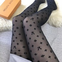 Louis Vuitton Lv Black Tights #1928