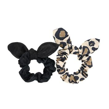 Little Marc Jacobs Girls Scrunchies Two-Pack