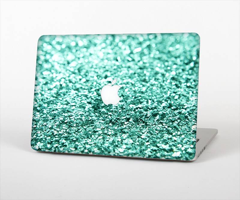 """Image of The Glimmer Green Skin Set for the Apple MacBook Air 13"""""""