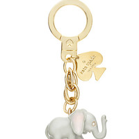 Kate Spade Elephant Keychain Grey Multi ONE