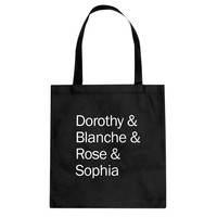 Tote Golden Names Canvas Tote Bag