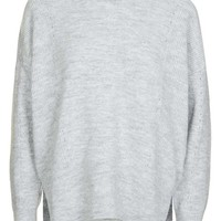 Topshop Pointelle Boxy Sweater | Nordstrom
