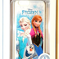 NEW Disney D-tech World WDW Parks Authentic 2014 Frozen Olaf Elsa Anna Iphone 6 Phone Hard Case & Screen Guard Cleaning Cloth