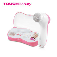 TB brand electric beauty kit 9 in 1 cleaning head body care manicure pedicure versatile face cleanser brush bath set
