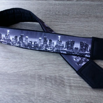 Los Angeles Camera Strap. Padded Camera Strap. Dslr Camera Strap. Camera Accessories