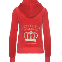 LOGO VELOUR VIVA CROWN ROBERTSON JACKET