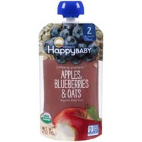 Happy Baby Clearly Crafted S2 Blueberry Oats 4oz
