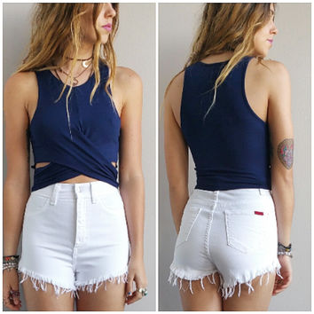 A Lovely Crop in Navy