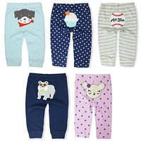 Limited Sale Baby Pants Kids Boys Girls Harem PP Trousers Knitted Cotton Unisex Toddler Leggings born Infant Clothing