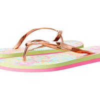Lilly Pulitzer Pool Flip-Flop