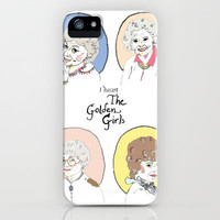 I Heart the Golden Girls Print iPhone & iPod Case by Jackie Bos