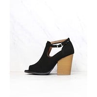 Stella Peep Toe Ankle Booties in More Colors