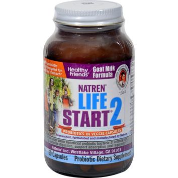 Natren Life Start 2 Probiotics For Adults - 60 Vegetarian Capsules