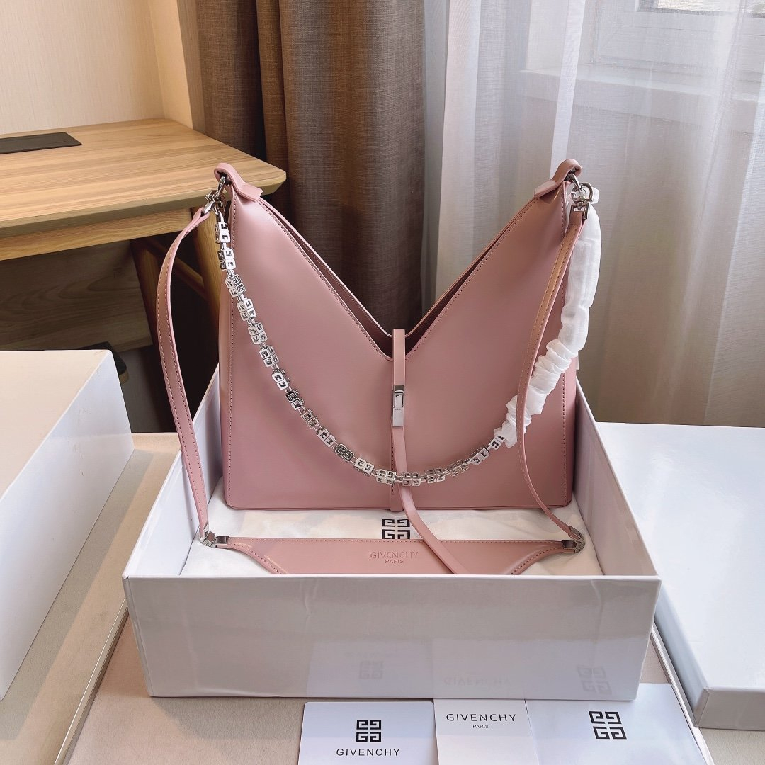 Image of GIVENCHY  Women's Leather Shoulder Bag Satchel Tote Bags Crossbody30*9*27cm 07060cx