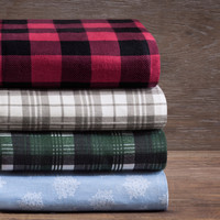 Woolrich Cotton Flannel Sheet Set | Overstock.com Shopping - The Best Deals on Sheets