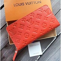 Louis Vuitton Women Fashion New Monogram Leather Wallet