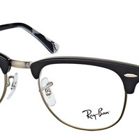 Authentic Ray-Ban RX 5154 5649 Clubmaster Black Clubmaster Eyeglasses 49mm