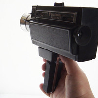 Bell & Howell 492 Autoload Focus Matic camera for 8mm film in original leather case