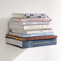 Invisible Book Shelf | Urban Outfitters