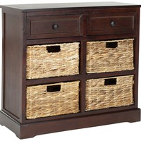 Herman Storage Unit Dark Cherry