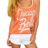 Chicago Bears Rookie Womens Tank Top   SportyThreads.com