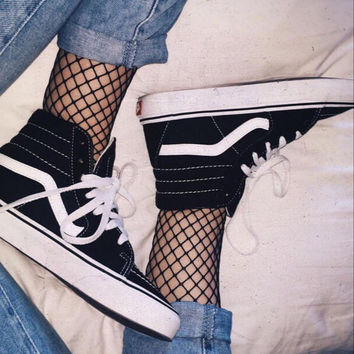 Vans Old School Warm Casual Canvas High help Shoes Sport Flats Shoes
