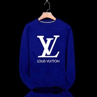 LV Fashion Casual Long Sleeve Sport Top Sweater Pullover Sweatshirt