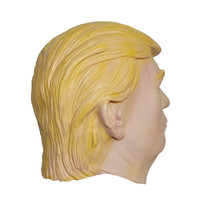 X-MERRY new product 2016 Celebrity Face Mask Popular TV Presenter Face Mask Donald Trump items Latex Halloween Mask