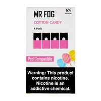 Mr Fog Cotton Candy 4 Pods