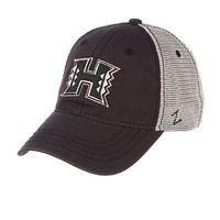 Licensed Hawaii Rainbow Warriors Official NCAA Smokescreen Adjustable Hat Cap by Zephyr KO_19_1