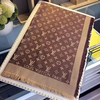 Perfect Louis Vuitton Women Wool Scarf Shawl Silk Scarf