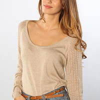 The Forever Mine Sweater in Marshmallow