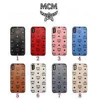 MCM iPhone Case iPhone 7/8, iPhone 7 Plus/8 Plus, iPhone X / XS, iPhone XR, iPhone XS Max