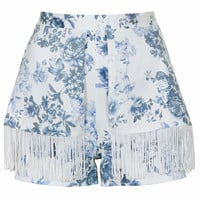 **Fringed Shorts by Love