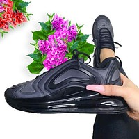 Nike AIR MAX 720 air cushion sneakers sneakers Full Black