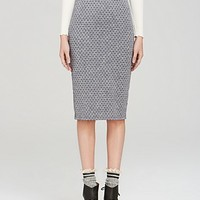 Free People Pencil Skirt - Lost In Dots