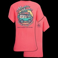 Southern Couture Classic Collection Adventure Awaits Jeep T-Shirt