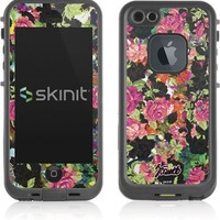 Floral Patterns Lifeproof fre iPhone 5&5s Skin - Baroque Roses Vinyl Decal Skin For Your Lifeproof fre iPhone 5&5s