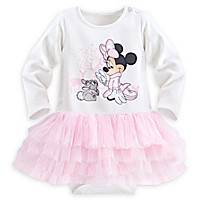 Minnie Mouse Bodysuit with Tutu for Baby