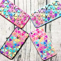 Rainbow Triangle Case for Iphone 6 6s 6plus