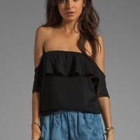 Boulee Emily Top in Black from REVOLVEclothing.com