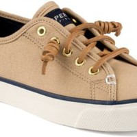 Sperry Top-Sider Seacoast Canvas Sneaker SandBurnishedCanvas, Size 6M  Women's Shoes