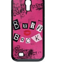 Treasure Design Funny The Burn Book - Mean Girls movie Samsung Galaxy S4 9500 Best Durable Case