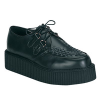 Creeper 402 Black Leather Men's Sizes 4-13
